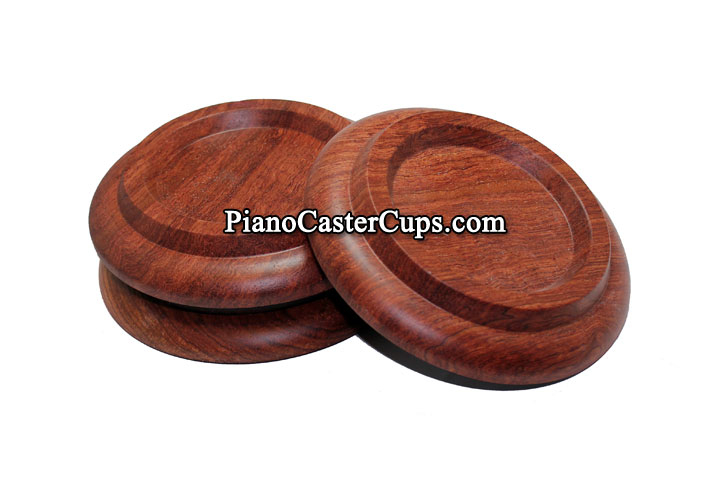 rosewood grand piano caster cups pads