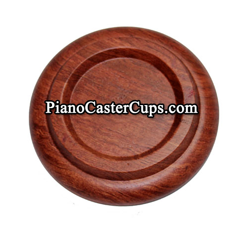 rosewood piano caster cup
