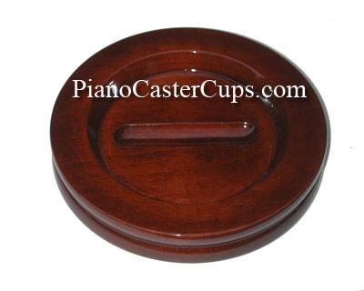 large high polish grand Piano caster cups